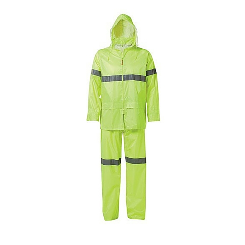 new cheap classic style genuine shoes Jonsson High Viz Rainsuit With Reflective Tape - Gryffin Saftey